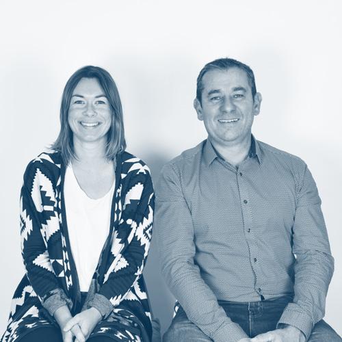 Arnaud Templier et Marine Génicado