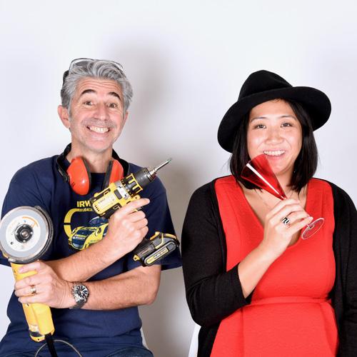 Ludovic Fichet et Valérie Génicado