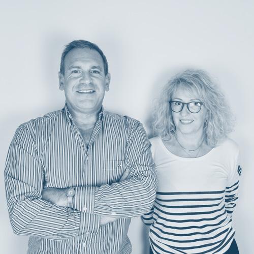 Thierry Verrecchia et Danielle Génicado