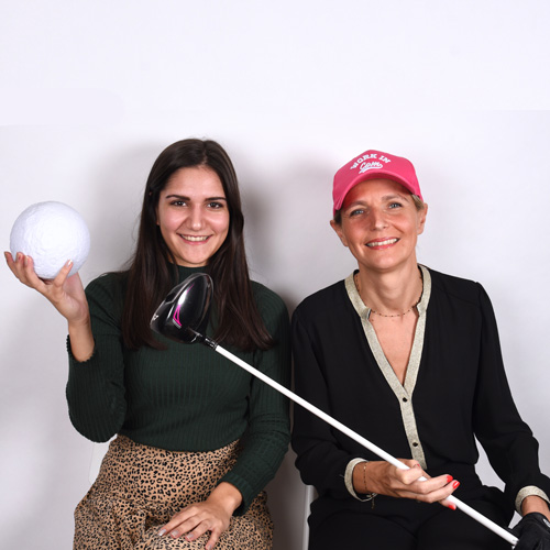 Caroline Lorin et Clara Génicado