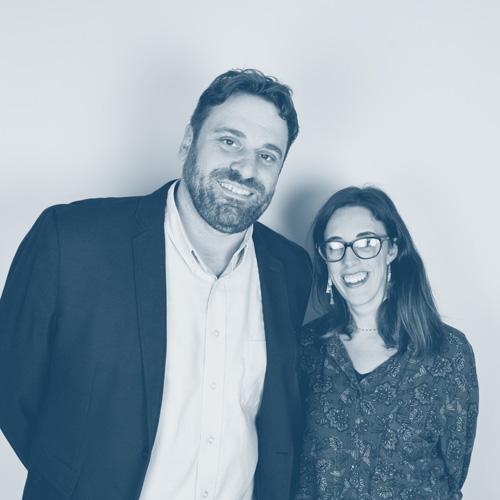 Vincent Klutsch et Claire Génicado