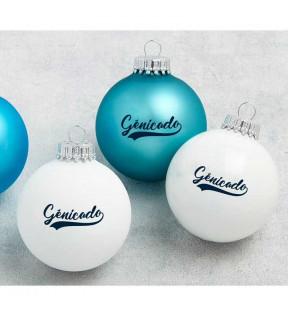 Boule de Noel personnalisé