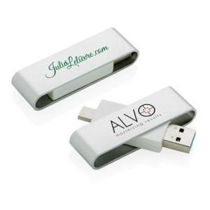 Clé USB avec type C Pivot