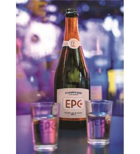 Bouteille de champagne EPC