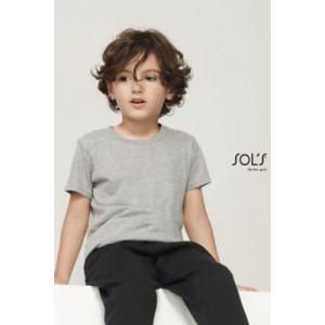 T-shirt enfant jersey col...