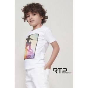 T-shirt enfant coupe cousu...