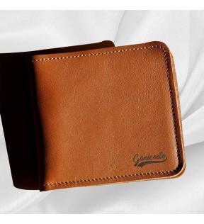Portefeuille en cuir personnalisable