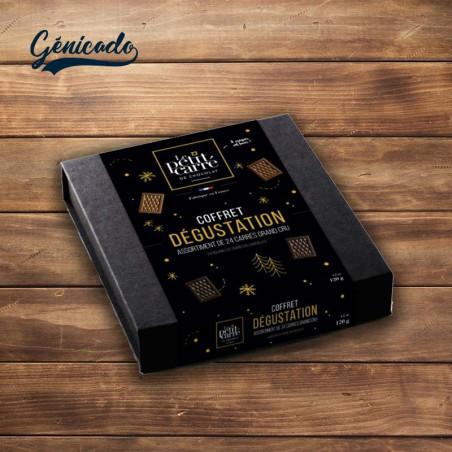 Coffret dégustation chocolat fabrication française
