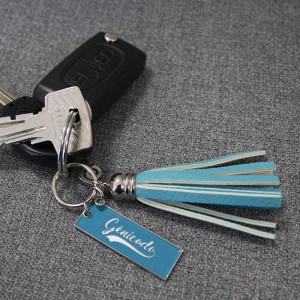 porte-clé à franges