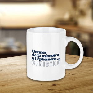 mug blanc droit personnalisé