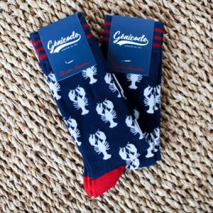 Chaussettes publicitaires sur-mesure Génicado