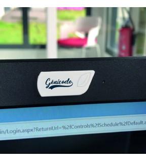 Cache webcam personnalisé logo