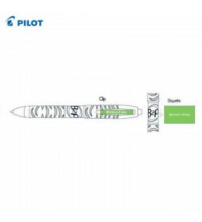 marquage sur stylo pilot recyclé avec logo