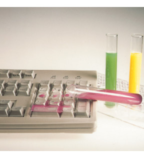 Protège clavier d'ordinateur transparent étanche hygiènique