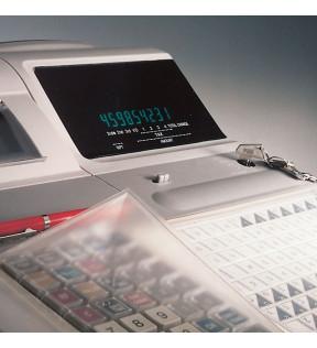 Protège clavier d'ordinateur transparent lavable pour commerces