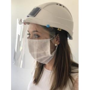 Visière de protection universelle pour casque de chantier