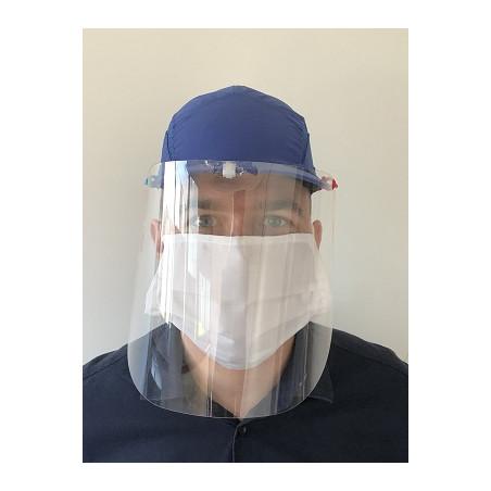 Visière de protection universelle pour casquette