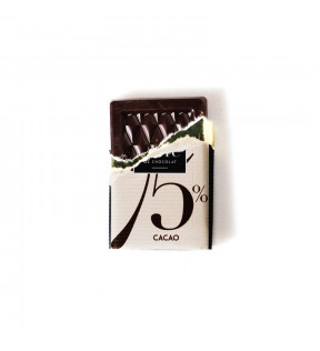 Carré chocolat made in France personnalisable