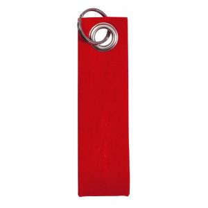 porte-clés personnalisé rouge