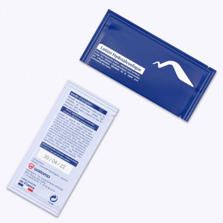 gel antibactérien sachet personnalisable génicado