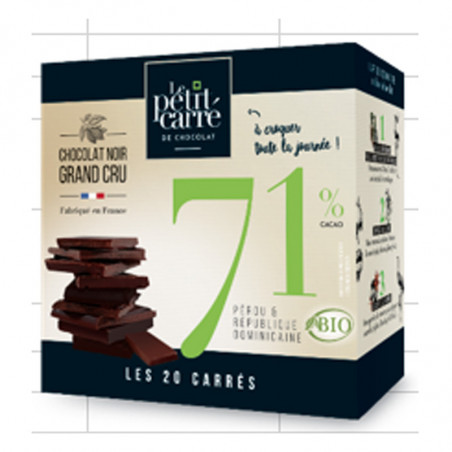 boite chocolat made in France bio