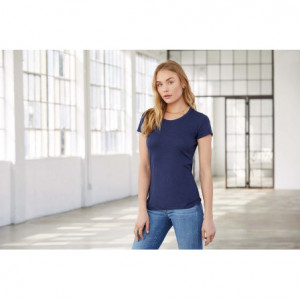 T-shirt femme triblend col...