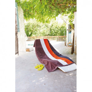 Drap de plage rayé - Kariban