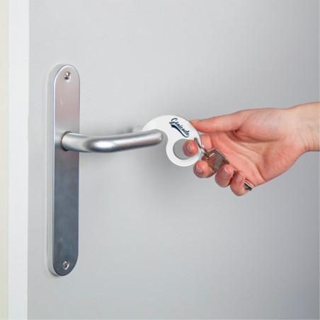 Porte-clé ouvre porte sans contact personnalisable