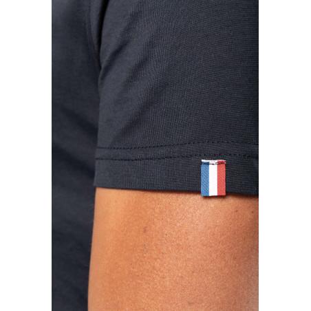 t shirt personnalisé made in france noir
