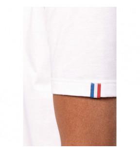 t shirt personnalisé made in france blanc bio entreprise
