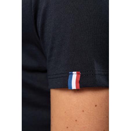 t shirt personnalisé noir made in france