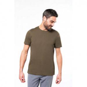 T-shirt bio personnalisé coton col rond homme