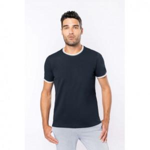 T-shirt entreprise maille piquée col rond homme