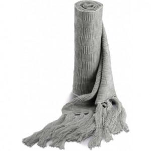 Écharpe en tricot jacquard...