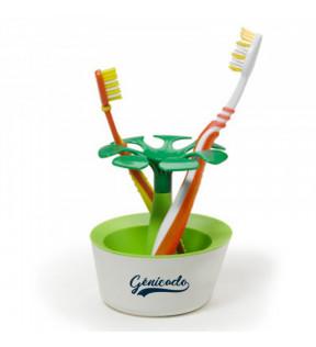 pot à brosses à dents design publicitaire