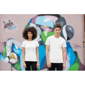 T-shirt homme col rond feel...