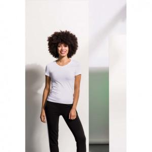 T-shirt femme col v feel...