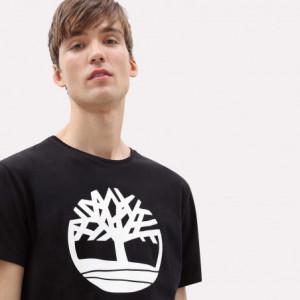 T-shirt bio brand tree - timberland