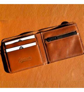 Porte-feuilles en cuir à personnalisé avec logo