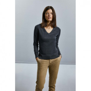 Pullover femme col v - Russell