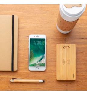 Powerbank personnalisable en bambou