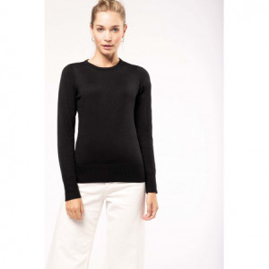 Pull col rond pour femme personnalisable