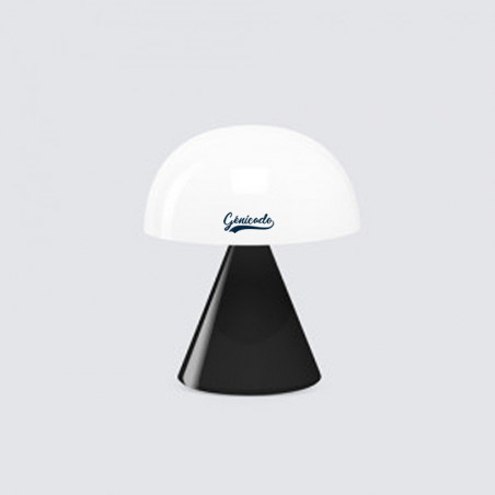 Lampe personnalisée design Mina Lexon noir Glossy