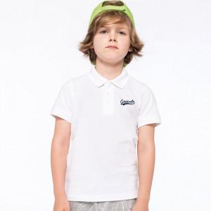 Polo personnalisé enfant chic et décontracté