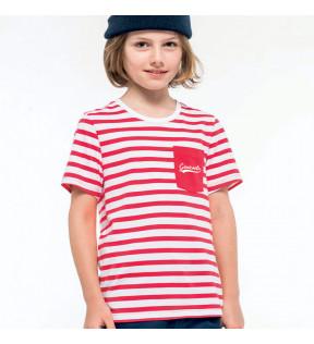 Marinière enfant personnalisable 100% coton