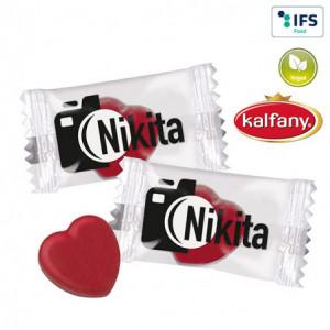 Bonbons en forme de cœur...