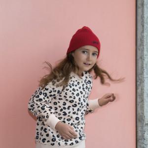Bonnet enfant tricoté personnalisable