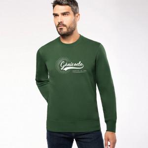 Sweat shirt personnalisé col rond workwear