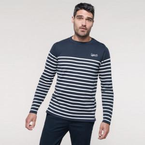Pull marin homme personnalisé 100% coton