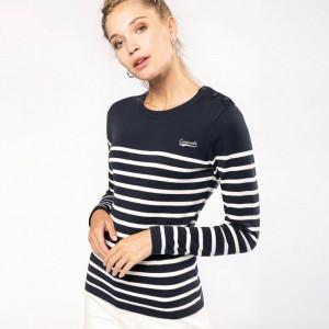 Pull marin femme personnalisé 100% coton
